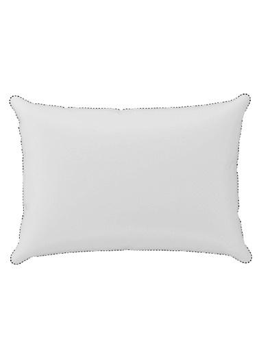 Hibboux 35x50 Vanilla Yıkanabilir Kılıflı Pamuk Bebek Yastığı 200 gr Beyaz